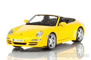Porsche 911 Carrera 4S Cabriolet, Yellow