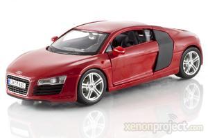 2009 Audi R8, Red