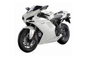 Ducati Motorcycle 1198 White