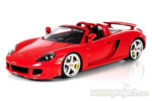 DUB 1:24 PORSCHE CARRERA GT 2005 RED
