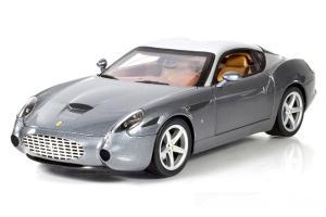 Hot Wheels Elite Ferrari 575 GTZ Zagato Elite Edition Silver