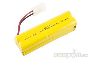 Ni-cd 700mAh 9.6V Battery