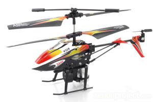 V319 3Ch Water Shooting Gyro RC Helicopter, Orange