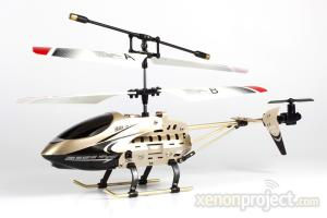 Viefly V688 High Speed Mini Helicopter Gold