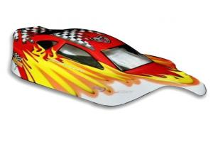 Redcat Racing 1/10 Buggy Body Red and Yellow