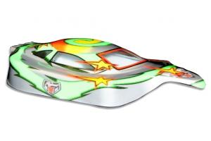 Redcat Racing 1/10 Buggy Body Green and Silver