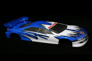 Redcat Racing 1/10 200mm Onroad Car Body Blue and White