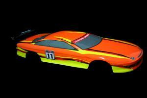 1/10 200mm Onroad Car Body Orange