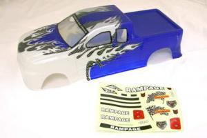 Redcat Racing 1/5 Truck Body Blue