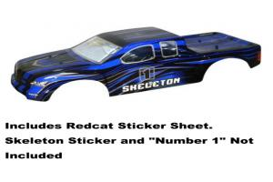 Redcat Racing 1/5 Blue and Black Truck Body