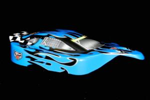 Redcat Racing 1/10 Buggy Body Blue Flame