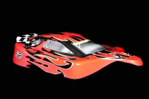 Redcat Racing 1/10 Buggy Body Red Flame