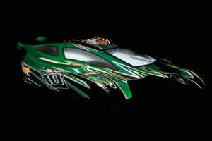 Redcat Racing 1/8 Buggy Body Green and Black