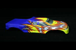 Redcat Racing Blue Yellow Avalanche body