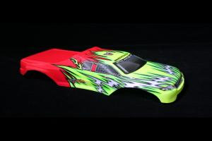 Redcat Racing 1/8 Truck Body Red and Yellow