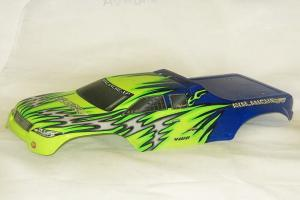 Redcat Racing 1/8 Truck Body Blue and Green