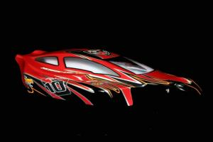 Redcat Racing 1/8 Buggy Body Red and Black