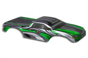 Redcat Racing 1/10 Truck Body Green and White