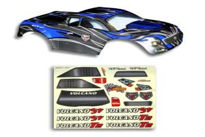 Redcat Racing 1/10 Truck Body Black and Blue