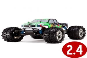 1/8 Truck, Brushless Electric, 2.4GHz Radio, Chrome Wheels