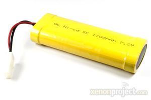 Ni-cd 1700mAh 7.2V Battery