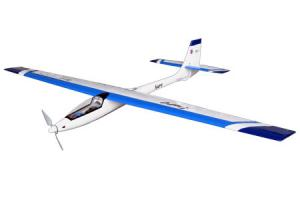 The World Models Aure EP Glider w/ Motor and Prop Adapter