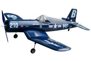 The World Models F4-U Corsair EP w/ Motor and Prop Adapter