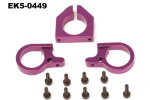 Servo and horizontal fin mount set