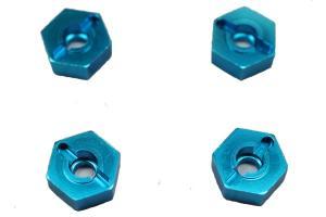 Aluminium six angles wheel rim lock