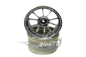 Chrome wheel rim*2pcs