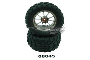 Tyre and wheel rim