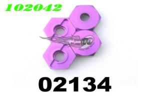 02134 Alum.Weel Hex. Mount 4P