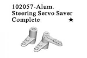 Aluminium Steering Servo Saver Complete