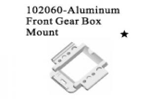 Alum.front gear box mount