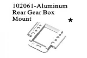 Alum.rear gear box mount