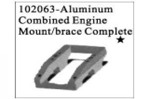 Aluminum Combined Engine Mount / Brace Complete