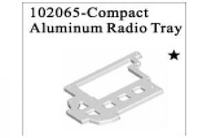Compact Aluminium Radio Tray