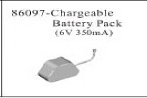 Chargeable Battery Pack 6V 350mA
