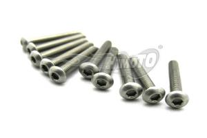 BIND HEAD HEX TITANIUM SCREW 3x18mm