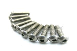 BIND HEAD HEX TITANIUM SCREW 4x15mm
