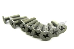 PLATE HEAD TITANIUM SCREW 4x15mm