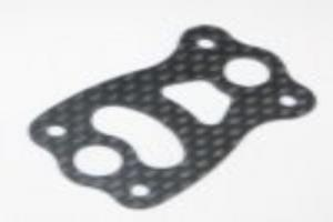 Carbon fiber center differential plate