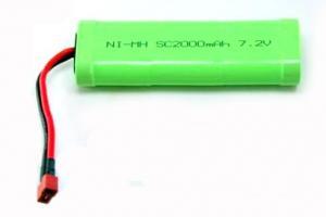 7.2V 2000mAh NIMH Battery with Deans Plug