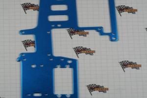 Aluminum Upper Plate, Blue