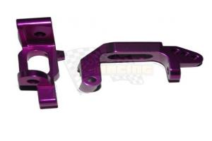 Aluminum door type mount purple