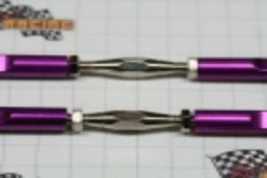 Purple Aluminum turn buckles 2pcs