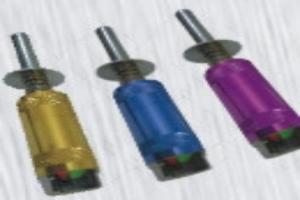 Blue aluminum glow plug igniter