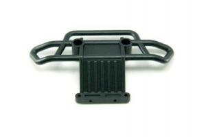 Plastic rear bumper
