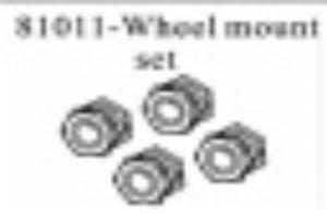 17mm Wheel mount set 2pcs