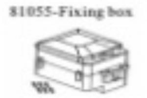 Radio receiver/battery Box